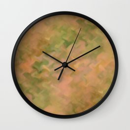 CLOCHED TILE Wall Clock