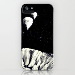 Silently They Left, Ascending Towards The Heavens iPhone Case