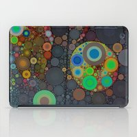 circles iPad Cases featuring Circles by Olivia Joy StClaire