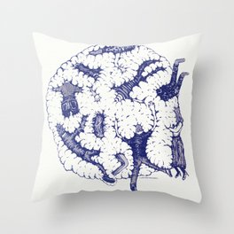 "We are in a Cotton Ball (8'x8"") Throw Pillow"