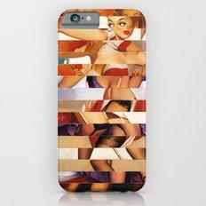 Glitch Pin-Up Redux: Amber Slim Case iPhone 6s