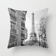 Paris No1 Throw Pillow