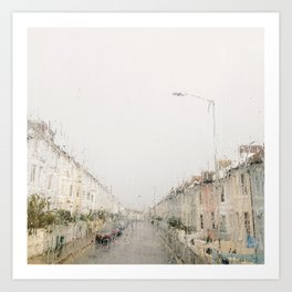 Rainy Sunday Art Print