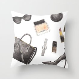 My Style Essentials n.1 Throw Pillow
