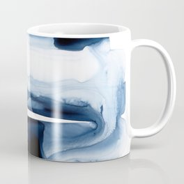 Indigo Flow no. 1 Coffee Mug