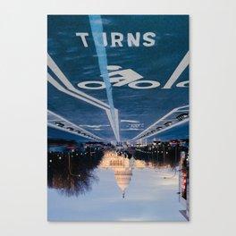 Turns Canvas Print