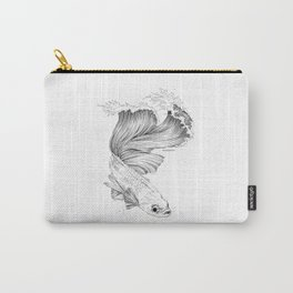 Beta Fish Wave Carry-All Pouch