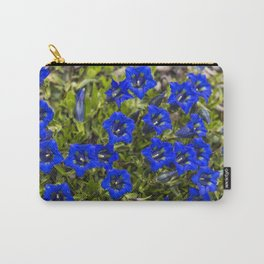 nice gentian - nice bloom Carry-All Pouch