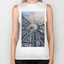 Arc De Triomphe, Paris Biker Tank