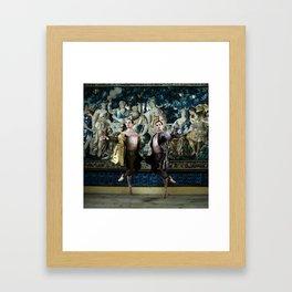 Bubeníček Ballet Brothers Framed Art Print