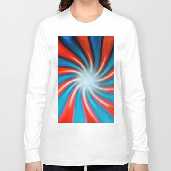 Crazy Colors Long Sleeve T-shirt
