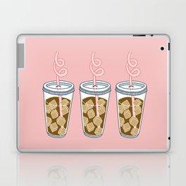 Coffee Time on pink Laptop & iPad Skin