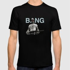 BANG Black Mens Fitted Tee SMALL