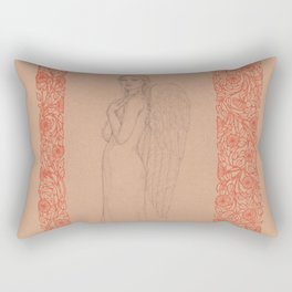 Finding Refuge : Better Angels Series Rectangular Pillow