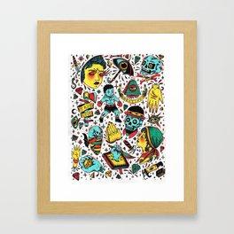 Varios 2. Framed Art Print
