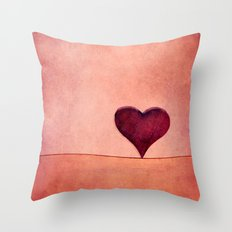 sunday in love Throw Pillow