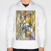 kandinsky Hoodies featuring Abstract 26 by Har8