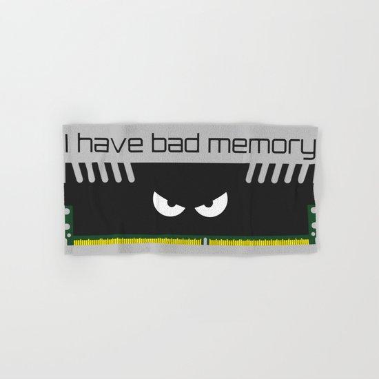 I have bad memory RAM Hand & Bath Towel