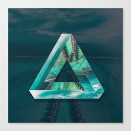 The Bermuda Triangle Canvas Print