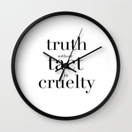 Truth Wall Clock