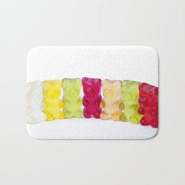 Gummy bears candy Bath Mat