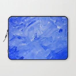 Blue Crystal City - Quartz Photography Laptop Sleeve