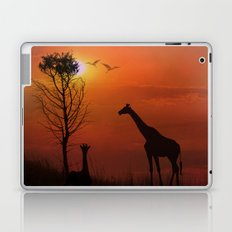 Sunset on the Plaines Laptop & iPad Skin