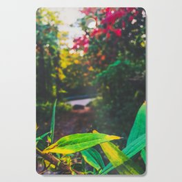 Colorful forest Cutting Board