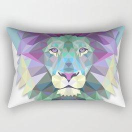 lion wild Rectangular Pillow