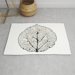 Aspen Leaf Skeleton 1 Rug