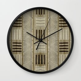 """""""Ethnic Pattern Natural Color"""" Wall Clock"""
