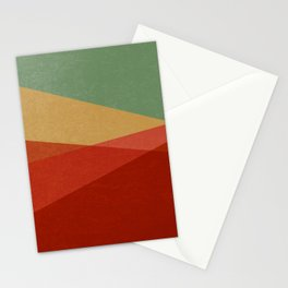 Stripe IX Modern Century Stationery Cards
