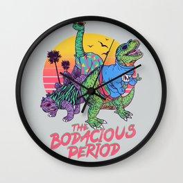 The Bodacious Period Wall Clock
