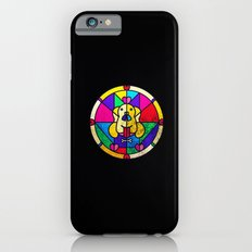Stained Glass Dog Slim Case iPhone 6s