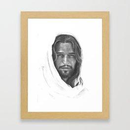 Christ (lightened) Framed Art Print