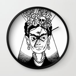Mystic Frida Wall Clock