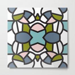 Nice Tile Metal Print