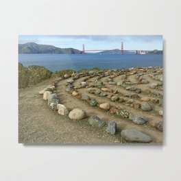 Lands end San Francisco Metal Print