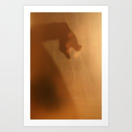 'Untitled 8' - Body language series. Art Print