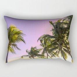 PURPLE AND GOLD SKIES 2 Rectangular Pillow