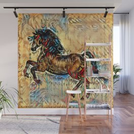Painted Pony Wall Mural