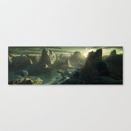 DragonBall Photoreal Series: Namek Canvas Print