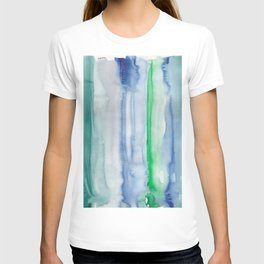 19    190907   Watercolor Abstract Painting T-shirt