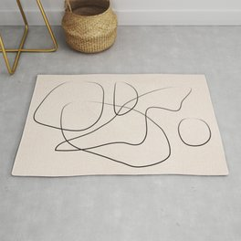 Abstract Line I Rug