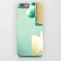 Mint reading and relaxing iPhone 6s Slim Case