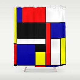 Mondrian #70 Shower Curtain