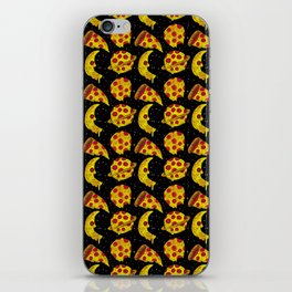 pizza space iPhone Skin