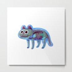 Jelly Cat Metal Print