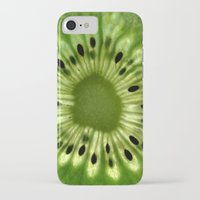 kiwi iPhone & iPod Cases featuring kiwi by Yes Menu