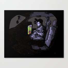 The Passenger Canvas Print